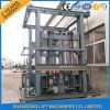 倉庫の重い油圧貨物エレベーターの上昇