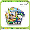 Магниты холодильника PVC способа с шаржем конструируют выдвиженческие подарки Португалию (RC-PL)