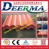 Azulejo de azotea acanalado de la calidad que forma la máquina plástica de la protuberancia de la maquinaria/PVC para el material para techos