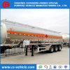 De la fábrica de la venta 42cbm del carburante-aceite del tanque del acoplado 42000L de aluminio de la aleación del carburante-aceite del tanque acoplado semi