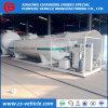 benzinestation van LPG van de Post van de Tank van LPG 20000L/20m3/10tons het Steunbalk Opgezette