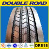 Marca de fábrica doble doble al por mayor del camino de la marca de fábrica 205/75r17.5 Dr818 del camino para el neumático radial del carro