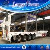 Hydraulische LKW-halb Schlussteile der Rampen-80tons Lowbed für Verkauf