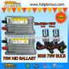 9005 70W het Xenon VERBORG Uitrusting