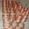 Câmaras de ar de cobre do refrigerador profissional