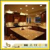 حجارة طبيعيّ يصقل نوع ذهب غروب صوّان [كونترتوب] لأنّ مطبخ/غرفة حمّام ([يقك])