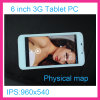 6.0inch Двойное-Core 3G Tablet PC/Smart Phone-Ly-M601