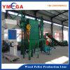 Ligne en bois de machine de boulette de pleine biomasse complète de Chine