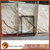 Plak van Sofitel van de Bouwmaterialen van de steengroeve de Directe Verkopende Natuurlijke Gouden Marmeren