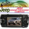 Reproductor de DVD especial cherokee del jeep/del compás magnífico del coche