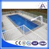 Frontière de sécurité de piscine avec la couleur blanche ou noire