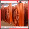 Plataforma móvel de construção Steel H Frame Scaffold