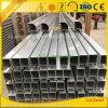 6063 6061 ألومنيوم بثق مصنع ألومنيوم أنبوب لأنّ سياج