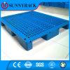 Pálete plástica resistente dos corredores da superfície três do engranzamento do fornecedor de China