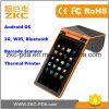 7 de Scanner Mobiele POS van de Streepjescode van de Tablet van de duim met Printer