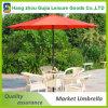 paraguas redondo del mercado del plegamiento al aire libre de aluminio del artículo de los 9FT