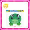 子供の安全な飛行のおもちゃの緑カエルのフリズビーのおもちゃ