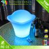 A maioria de cubeta de gelo popular do diodo emissor de luz de Beleuchteter Eiskubel do bar