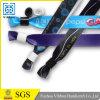 Печатание сатинировки ваш собственный Wristband логоса для выставки выставки