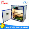 Incubadora automática do ovo de Hhd que choca o certificado do Ce da máquina (YZITE-8)
