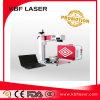 Laser die van de Vezel van het metaal de Plastic Machine, de Laser die van het Metaal merken Gravure merken