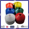 Cones coloridos do treinamento do futebol do PE de 20*5cm para a promoção