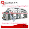 Impresión de aluminio farmacéutica del conjunto de la serie de Qda y máquina de capa