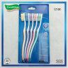 il pacchetto economico del kit del Toothbrush del pacchetto della famiglia del pacchetto 5PC libera i coperchi