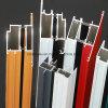 Aislamiento térmico Ventana de aluminio de perfil de marco de aluminio