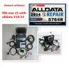 O MB SD da ferramenta diagnóstica coneta o software de C5 Alldata com o portátil