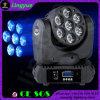 LEDの移動ヘッドビームライトズームレンズの洗浄7X10W