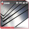 El panel compuesto de aluminio aplicado con brocha para el uso exterior e interior