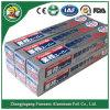 Aluminium pour le papier d'aluminium de Harga de nourriture