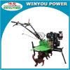 Diesel 8.5HP van China Winyou Wy1080A MiniUitloper met de Uitrustingen van de Staaf en van het Wiel van het Handvat