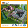 De architecturale Modellerende Bouw ModelModellen van de Maker/van de Tentoonstelling/het Model/Oude Model van de Architectuur