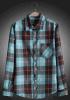 Baumwollmann-Form-lange Hülsen-beiläufiges Hemd 100%