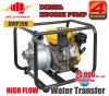 2 Pomp van de Overdracht van het Water van de Dieselmotor van de Stroom van het Type van Eco van de duim de Draagbare Hoge