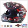 Полное Face Motorcycle Helmet/Motorbike/Cross Helmet с Cool Tattoo (FL105)