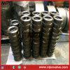 Válvula de verificação dupla da bolacha da placa do aço de molde (H76)