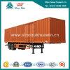 40 toneladas 2 Axle Van Semi-Trailer