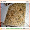 Giallo naturale Fiorito Granite Floor Tiles per Project
