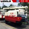 米の収穫のためのゴム製トラック収穫機