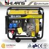 Open Diesel van het Lassen van het Type van Frame Generator met Handvat en Wielen (DG6000EW)