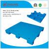 Паллет HDPE продуктов 1200*1200*140mm пакгауза пластичный большие 9 ног плоского пластичного паллета для перехода (ZG-1212)