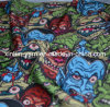 Ткань характера печати дьявола цветастая для занавеса/одежды