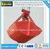 Vier Seil-Doppelschaufel-wasserundurchlässige mechanische Zupacken-Wanne für Massenmaterial