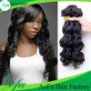 Estensione brasiliana non trattata dei capelli umani dei capelli del Virgin di Remy dell'onda del corpo di 100%