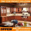 Oppein 2,014 madera sólida del gabinete de cocina con muebles de madera de cerezo