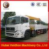 10 toneladas Hydraulic Telescopic/Knuckle Boom Truck con Crane
