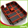 Sosta dell'interno professionale del trampolino di divertimento di Liben